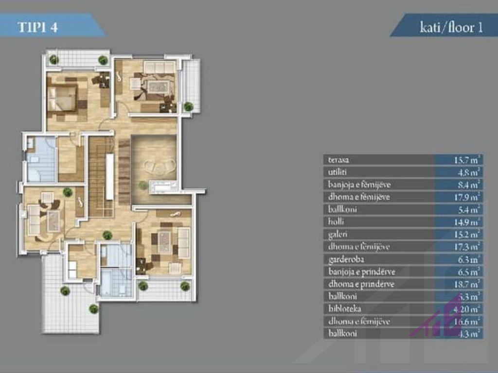 Shtepi ne shitje 360m2 ne Marigona Residence14