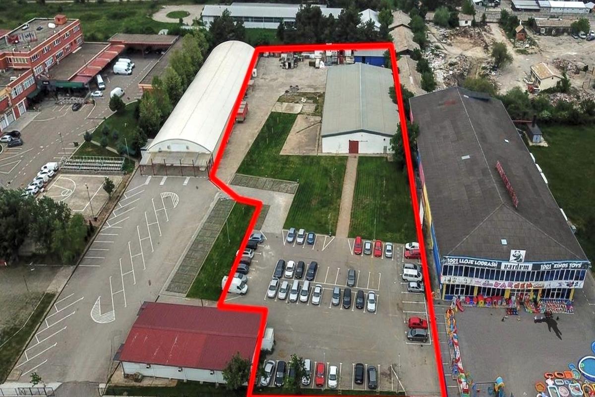 Depo me qira 770m2 ne zonen industriale afer Exclusive Group5