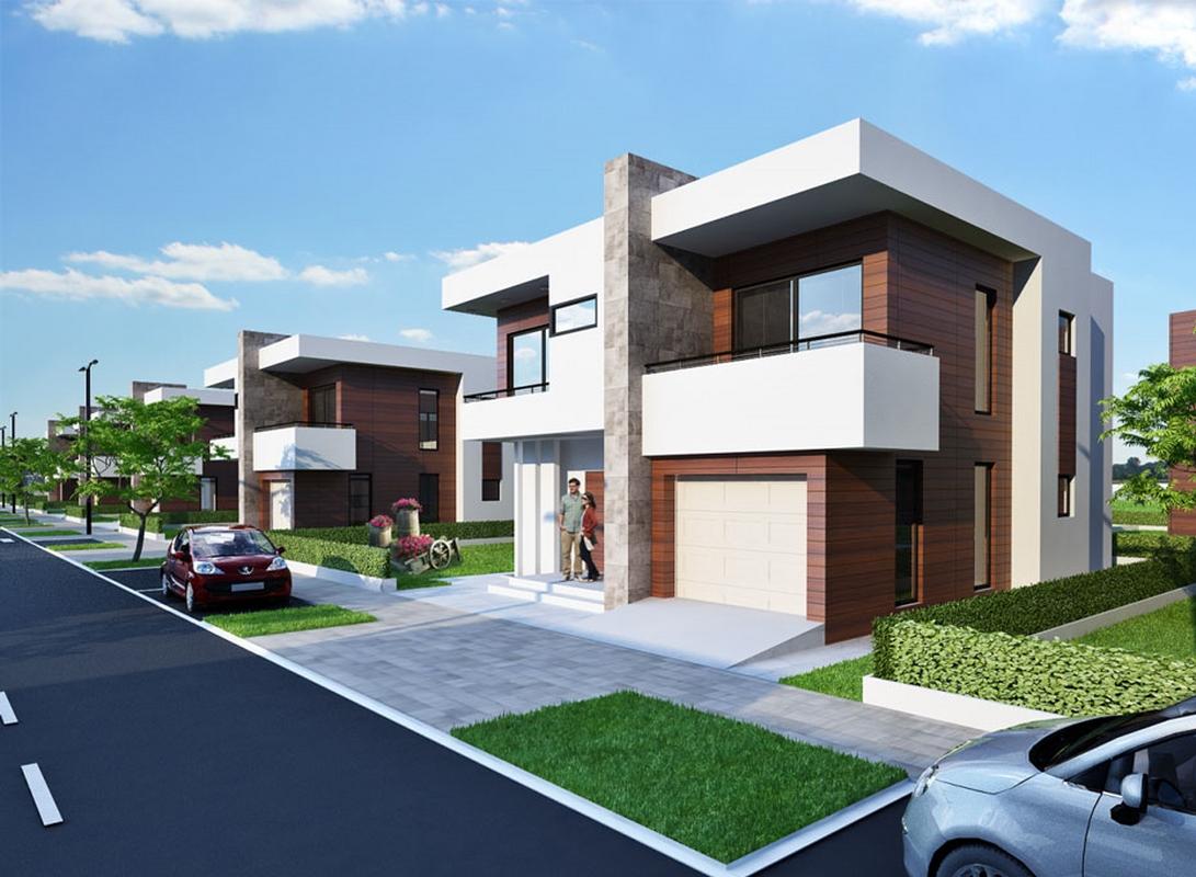 Shtëpi në shitje 236m2 në lagjen Swiss Village – Çagllavicë