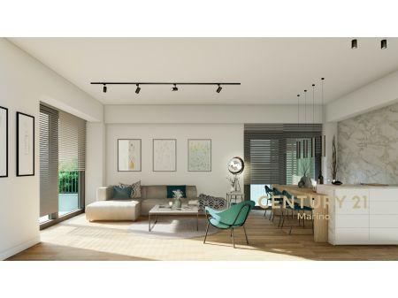 Dvosobni stanovi na prodaju u ekluzivnoj novoj zgradi u srcu Rafailovica- samo minut od mora