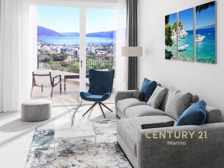 Prodaju se ekskluzivni stambeni apartmani u novoj zgradi u Tivtu