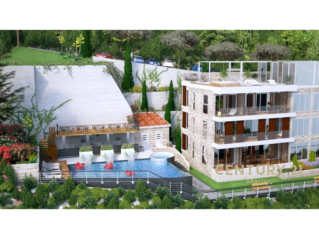 Prodaje se luksuzni trosoban stan s pogledom koji oduzima dah na more i na cijelu Budvu!