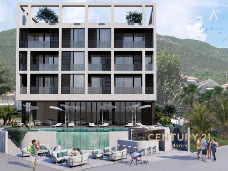 Ekskluzivno zemljište odobreno za hotel 5 * , prva linija do mora sa privatnom plažom, pored Portonovi!