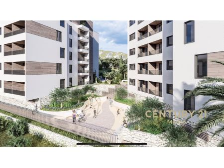 Two bedroom apartment in new project in Becici!