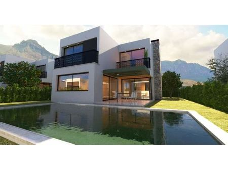 3+1 villas for sale in Kyrenia, Zeytinlik