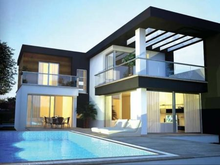 4+1 villas for sale in Kyrenia, Catalkoy