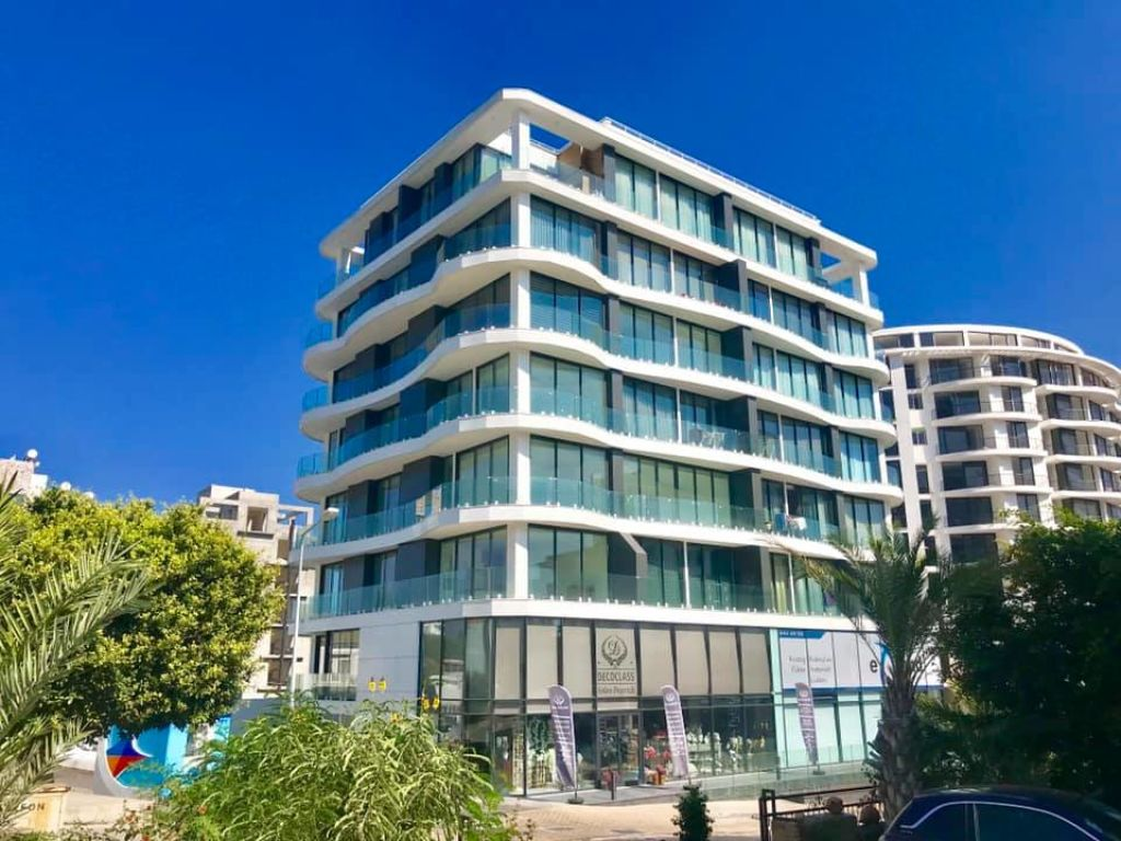 1+1 apartment for rent in Kyrenia Center