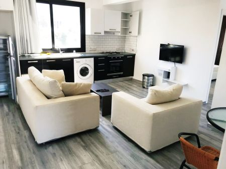 1+1 apartment for rent in Kyrenia, Alsancak