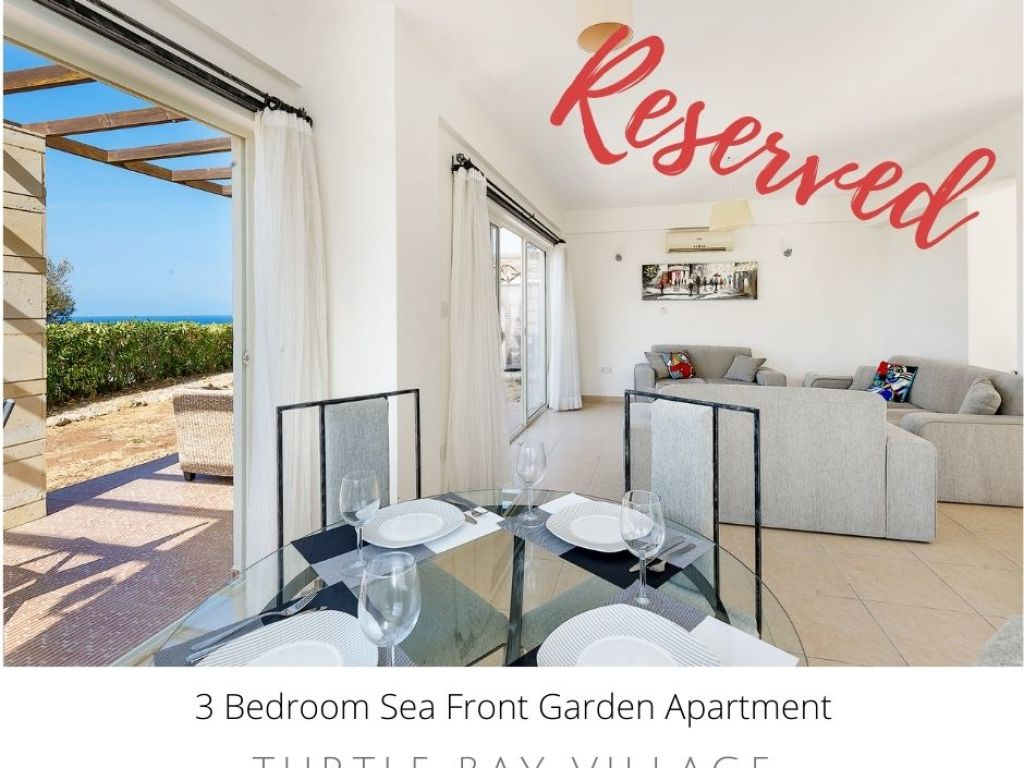 3+1 apartment for sale in Kyrenia, Esentepe  / Turtle Bay Village