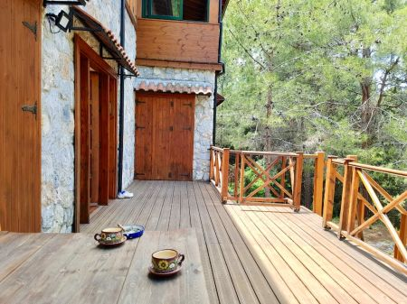 3+1 eco villa for sale in Kyrenia, Karaagac