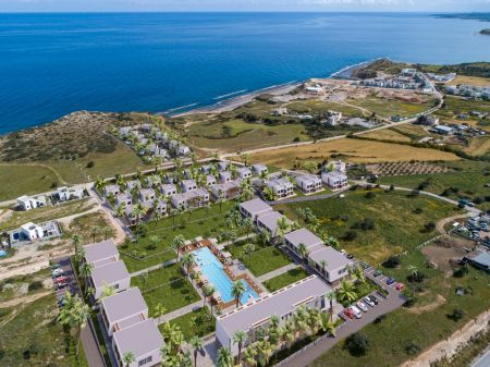 1+0 apartments for sale in Kyrenia, Bahceli