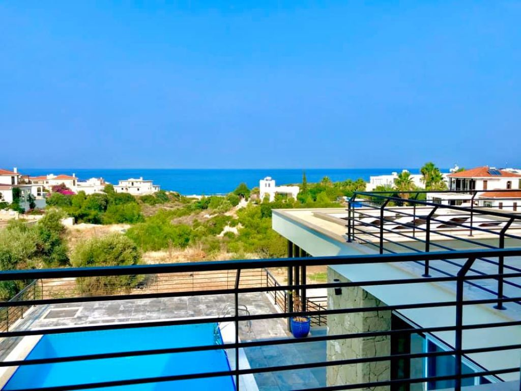 3+1 villa for sale in Kyrenia, Esentepe
