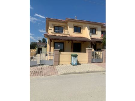 3+1 semi-detached villa for sale in Gonyeli, Nicosia