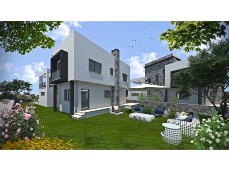 3+1 villa for sale in Ozankoy, Kyrenia