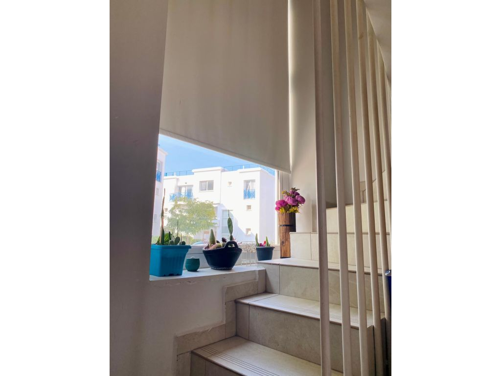 1+1 duplex apartment for sale in Kyrenia, Alsancak