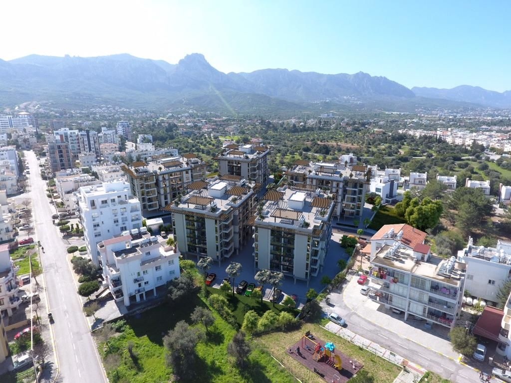 3+1 apartment for sale in Kyrenia, Zeytinlik
