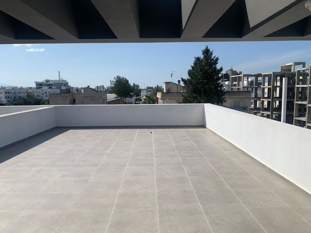 2+1 penthouse apartment for sale in Nicosia, Kucuk Kaymakli