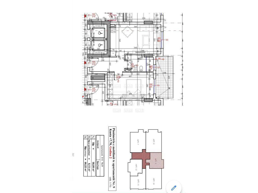 Shitet Apartament  1+1 Tek Fusha e Aviacionit.