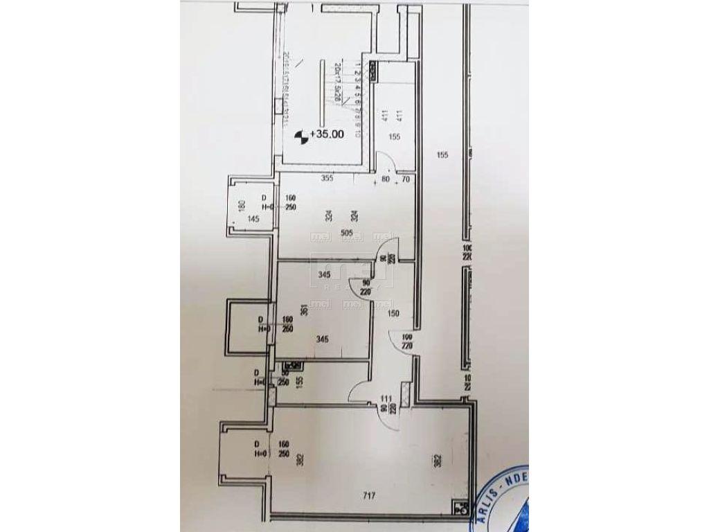 """Kompleksi """" Square 21"""", Shitet Apartament 2+1"""