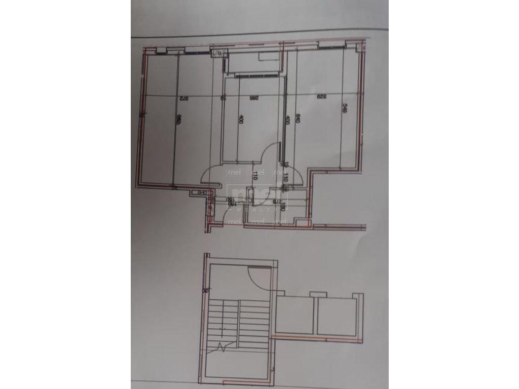 Shiten Opsione Apartamentesh 2+1 Tek Rruga e Dibres