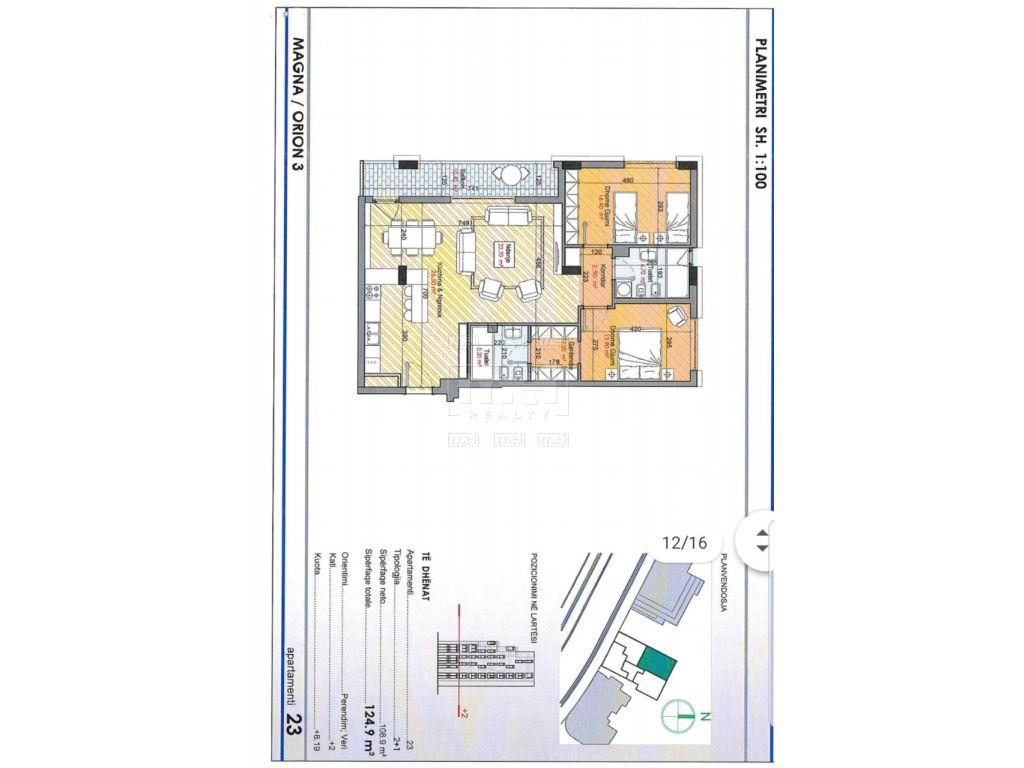 Tek Rruga e Kosovareve shitet apartamente me tipologji te ndryshme.
