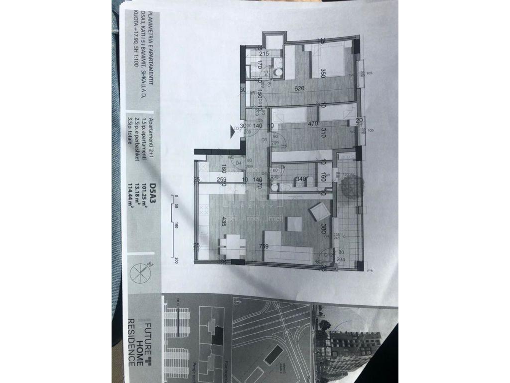 Tek Rezidenca Future Home Shitet Apartament 2+1 1
