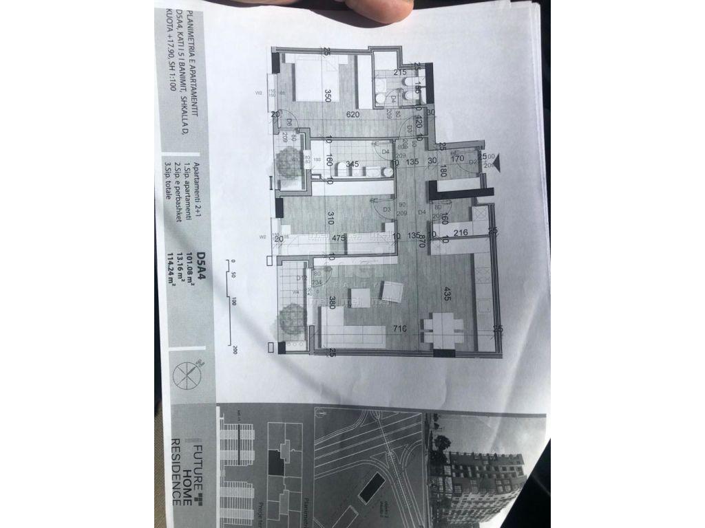 Tek Rezidenca Future Home Shitet Apartament 2+1