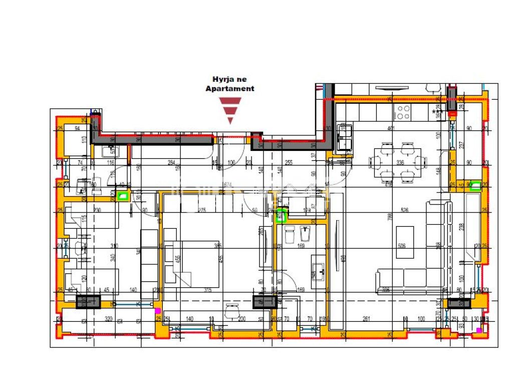 Apartment 2 + 1 with Sip. 128.9 m2 for Sale to Aviation Field