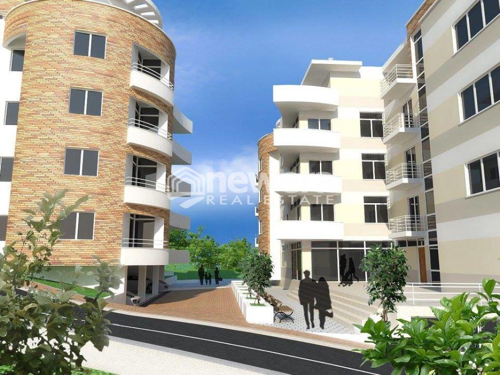 Apartament 2+1 me Sip. 107.48  m2 per Shitje ne Linze