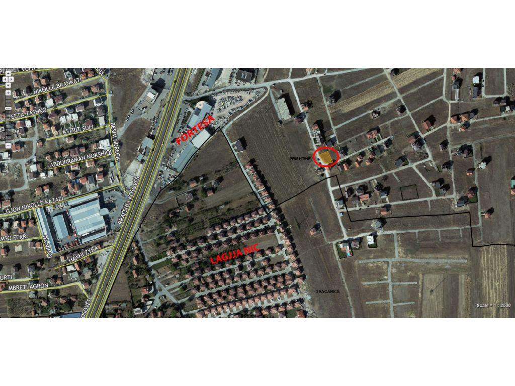 Shitet trualli 4.30Ari në lagjen Veterrnik, afër lagjes NIC.
