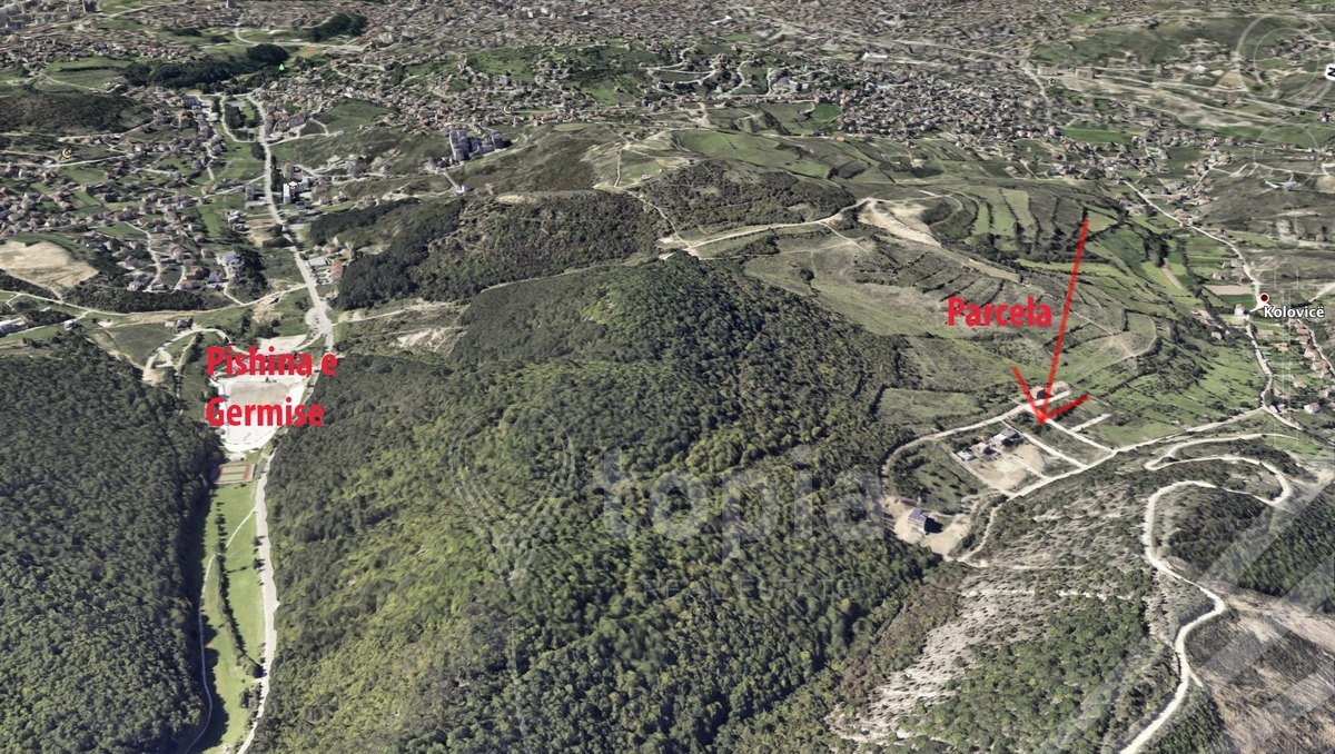 Shitet parcela 7.5 ari në afër parkut Gërmia