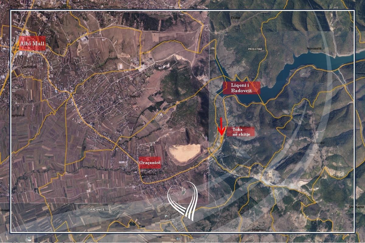 Shitet toka 66.43 ari në Graçanicë- Badovc, përballë Minierës së Kishnicës