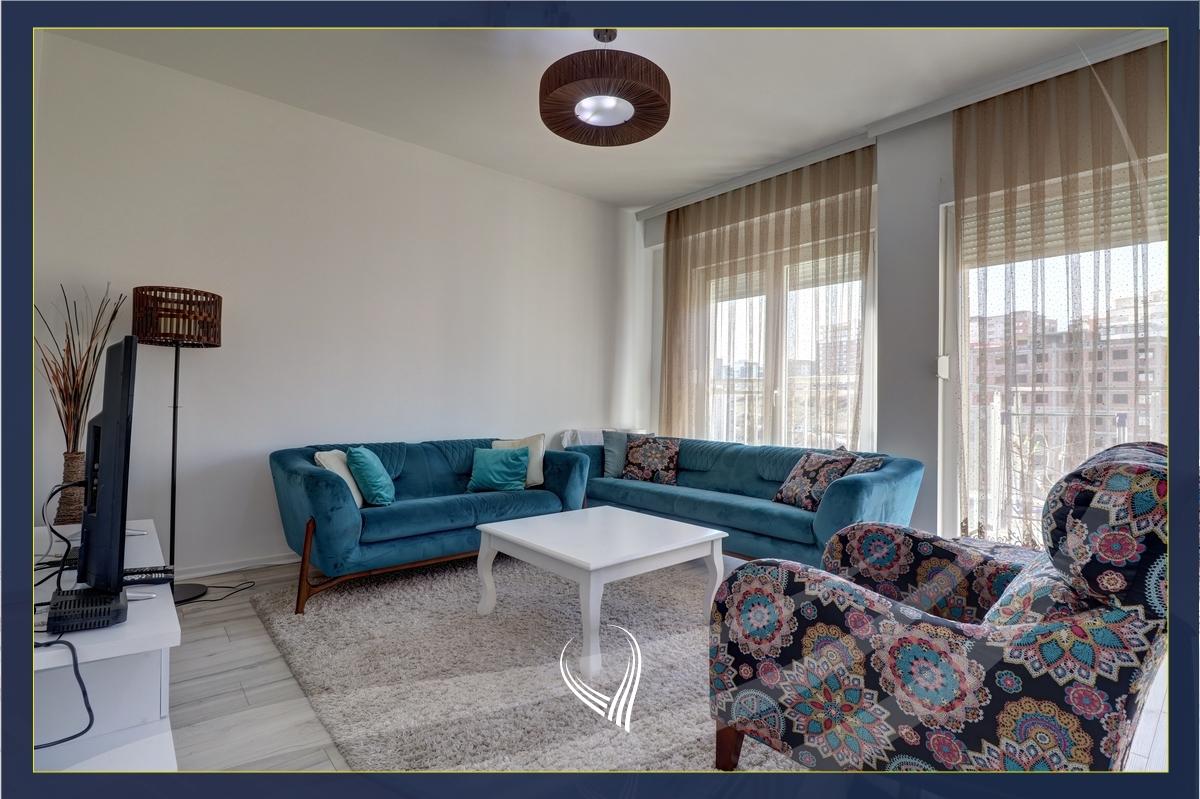 Banesë me 2 dhoma gjumi me qira në lagjen  Pejton - Ramiz Sadiku