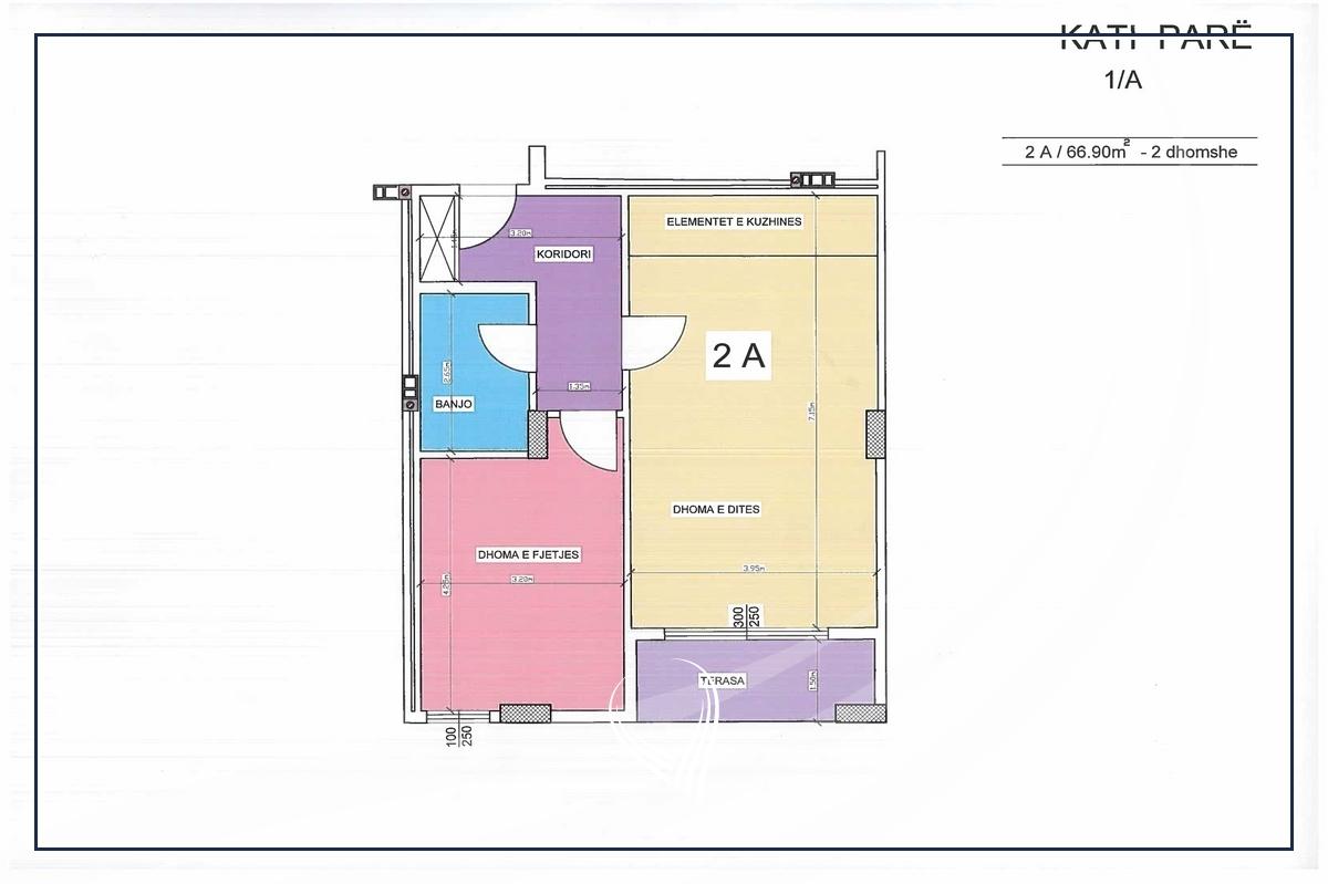Banesë me 1 dhomë gjumi në shitje në lagjen Tophane3