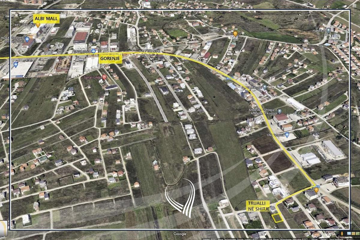 Shitet trualli 3.96 Ari në Çagllavicë afër lagjes 0381
