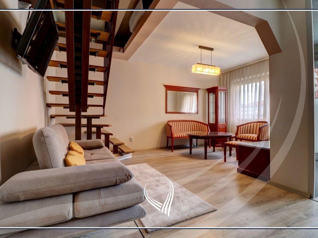 Duplex banesë me 2 dhoma gjumi në shitje në lagjen Bregu i Diellit1