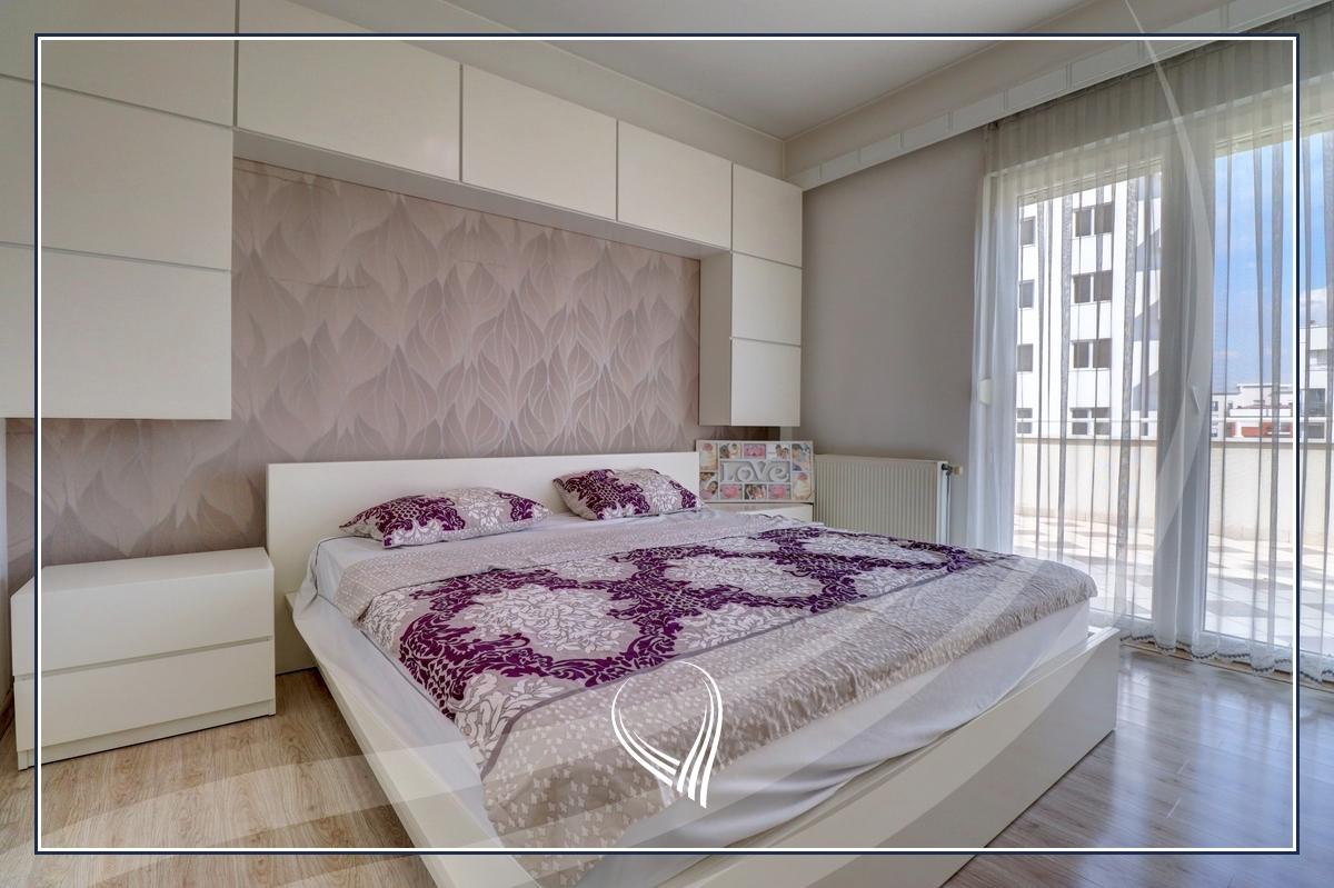 Penthouse me 2 dhoma gjumi në shitje në lagjen Mati 1 – Residio 14